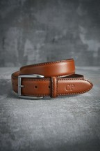 Personalised Signature Tan Belt