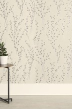 Paste The Wall Glitter Willow Wallpaper