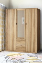 Barton Triple Wardrobe