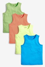 4 Pack Vests (3-16yrs)
