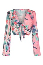 Lipsy Tropical Co-ord Top