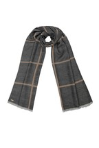Lipsy Reversible Check Woven Scarf