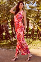 Lipsy Tiger Lily Beach Jumpsuit