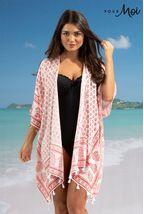 Pour Moi Scarf Tassel Kimono