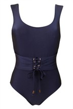 Pour Moi Monaco Belted Underwired Suit E+