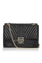 Lipsy Chevron Quilted Chain Bag