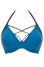 Curvy Kate Rock The Pool Halterneck Bikini Top H+