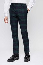 Twisted Tailor Ginger Check Suit Trousers