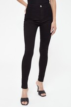 Lipsy Selena High Rise Regular Length Skinny Jeans