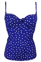 Pour Moi Mini Maxi Sweetheart Lightly Padded Underwired Tankini