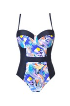 Pour Moi Halcyon Padded Underwired Swimsuit E+