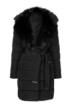 Abbey Clancy x Lipsy Padded Faux Fur Collar
