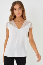 Naf Naf Lace Top