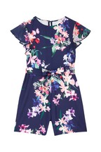 Lipsy Girl Floral Playsuit