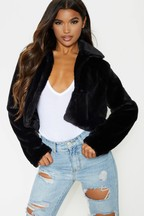 PrettyLittleThing Faux Fur Jacket