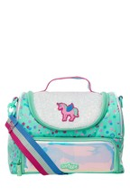 Smiggle Believe Strap Lunchbox with Unicorn