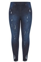 Yours Cat Scratch Jeggings