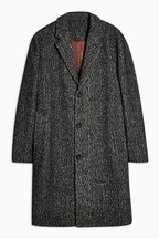 Topman Leon Harrington Crombie Coat