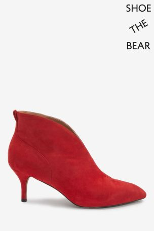 Mix/Shoe The Bear Red Valentine Shoe Boots