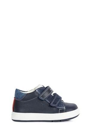 Geox Baby Boys Biglia Navy/White Shoes
