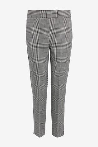 New Ladies Next Dark Navy Blue Tapered Smart Jeans Denim Trousers Size 8-26