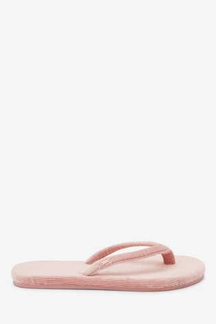 Buy Pink Toe Thong Slippers from the