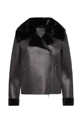 schönen Glanz Genieße den niedrigsten Preis Kostenloser Versand Geox Women's Nhenbus Black Short Jacket