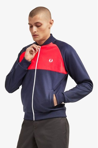 Buy Fred Perry Colourblock Track Jacket from