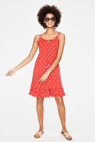 6dcee32bf00 Buy Boden Red Sophia Jersey Dress from the Next UK online shop