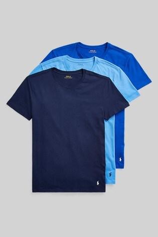 Polo Ralph Lauren® 3 Pack Short Sleeve Crew Neck T-Shirts