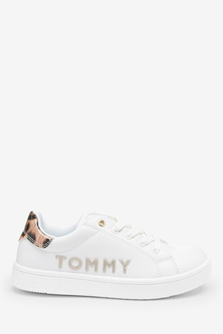Buy Tommy Hilfiger White Leopard