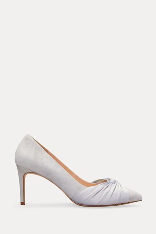 Phase Eight Silver Kendal Court Shoes