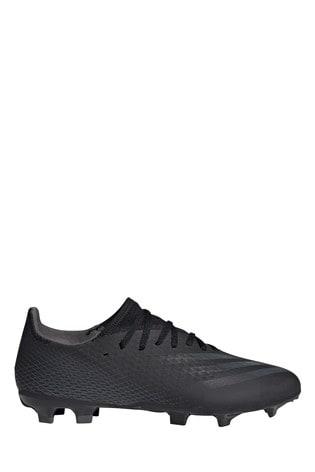 adidas Black X P3 Firm Ground Football Boots