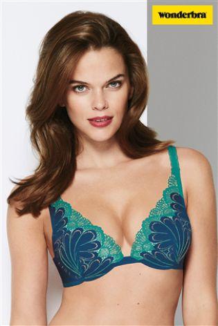 c33abd8638437 Buy Wonderbra® Seabottom Blue Refined Glamour Triangle Bra from Next ...