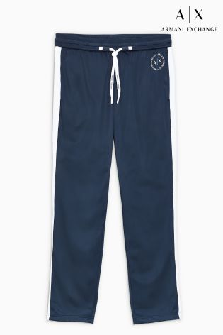 Luxembourg Buy Navy Taped Track Exchange Armani Next Pant From gqrwg8S