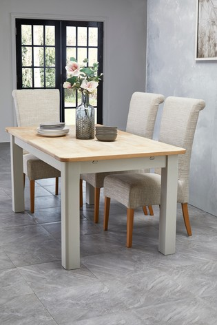 0b9485a81 Buy Huxley Painted 6 To 8 Seater Extending Dining Table from the ...
