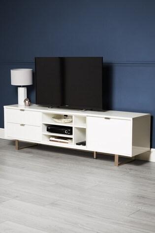 new product 02bda 93812 Logan Super Wide TV Stand