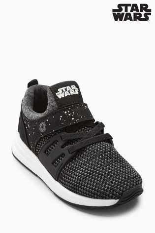 ad9e603dbfa58 Black Star Wars™ Trainers (Younger)