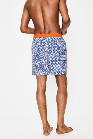 ac32bed08594c Buy Boden Blue Swim Short from the Next UK online shop