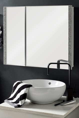 Buy Harper Mirrored Double Bathroom Cabinet From The Next Uk Online Shop