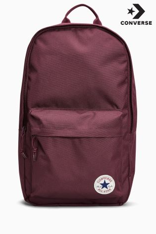 purple converse backpack
