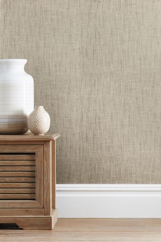 Buy Paste The Wall Luxury Linen Look Wallpaper From The Next Uk