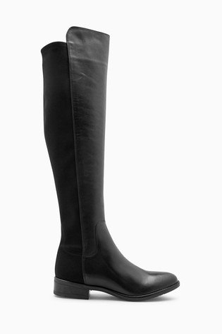 2a03b66298bb Buy Clarks Black Leather Caddy Belle Turn Collar Boot from Next Ireland
