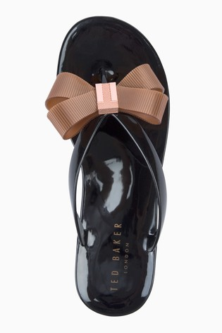 5d586bfcd088 Buy Ted Baker Suzie Black Flip Flop from Next Germany