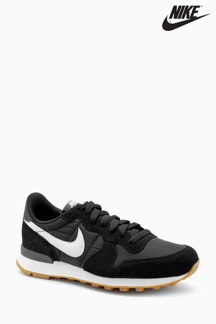 the latest d86ab 1dc71 Black Nike Internationalist ...