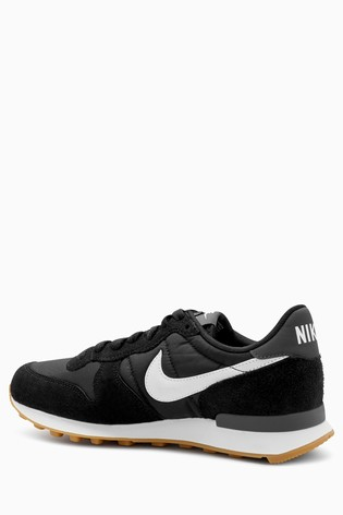 new photos 5737a 71a96 Black Nike Internationalist  Black Nike Internationalist ...
