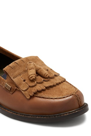 Barbour® Tan Tassel Loafer by Next