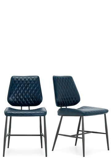 Cool Set Of 2 Carson Dining Chairs By Baker Furniture Evergreenethics Interior Chair Design Evergreenethicsorg