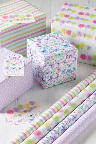 Birthday Gift Wrap Pack