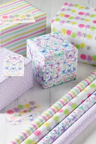 Birthday Gift Wrap Pack